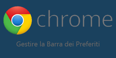 Come aggiungere un sito alla barra dei preferiti di Google Chrome