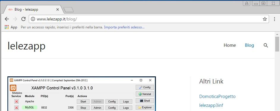 Come aggiungere un sito alla barra dei preferiti di Google Chrome menu