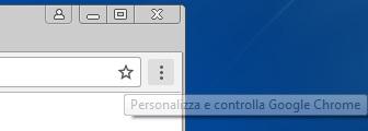 Come cancellare cronologia e dati di navigazione da Google Chrome menu