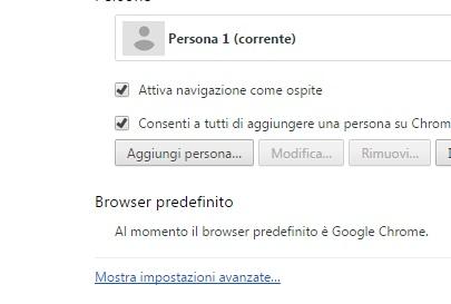 Come cancellare cronologia e dati di navigazione da Google Chrome impostazioni avanzate