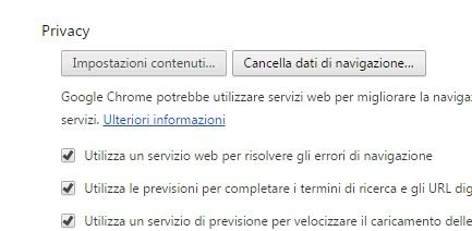 Come cancellare cronologia e dati di navigazione da Google Chrome cancella navigazione
