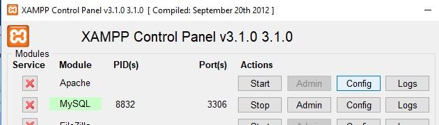 Come correggere errore Port 80 in used by system di XAMPP in Windows 10 config