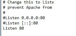 Come correggere errore Port 80 in used by system di XAMPP in Windows 10 listen