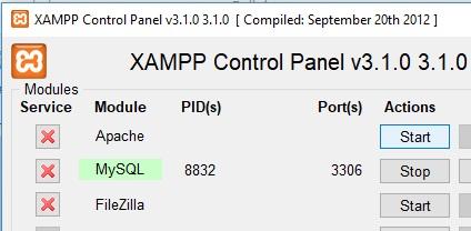 Come correggere errore Port 80 in used by system di XAMPP in Windows 10 start