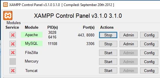 Come correggere errore Port 80 in used by system di XAMPP in Windows 10 start ok