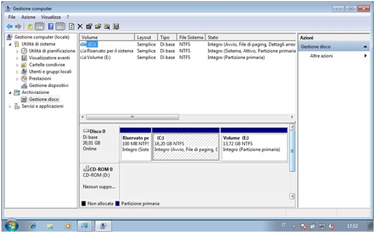 Come eliminare partizioni da Hard Disk con Gestore Computer in Windows 4