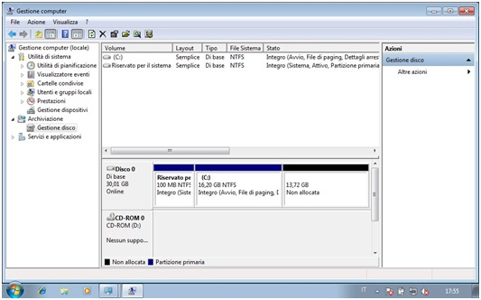 Come eliminare partizioni da Hard Disk con Gestore Computer in Windows