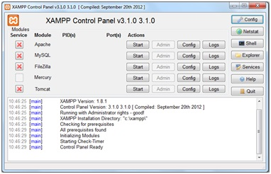 Come installare XAMPP in Windows 8
