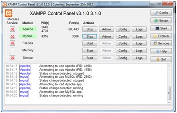 Come installare XAMPP in Windows 9