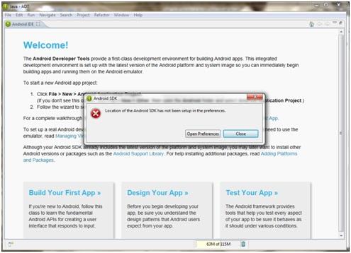 Come installare ide Eclipse e SDK Android per la programmazione Java 11