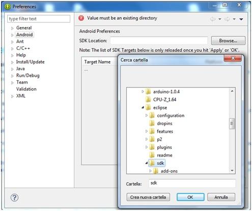 Come installare ide Eclipse e SDK Android per la programmazione Java 13