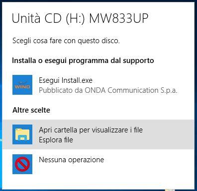 Come visualizzare il contenuto di una penna USB in Windows 10 apri cartella file