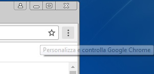 Come visualizzare o nascondere la barra dei preferiti in Google Chrome menu