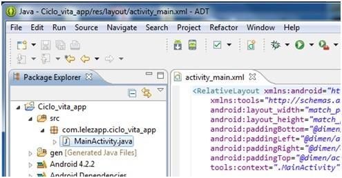 Creare applicazioni Android con Eclipse 10