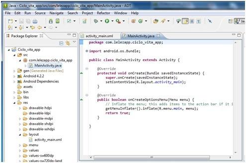 Creare applicazioni Android con Eclipse 14