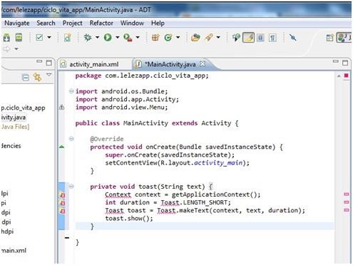 Creare applicazioni Android con Eclipse 15
