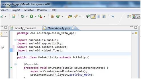 Creare applicazioni Android con Eclipse 17