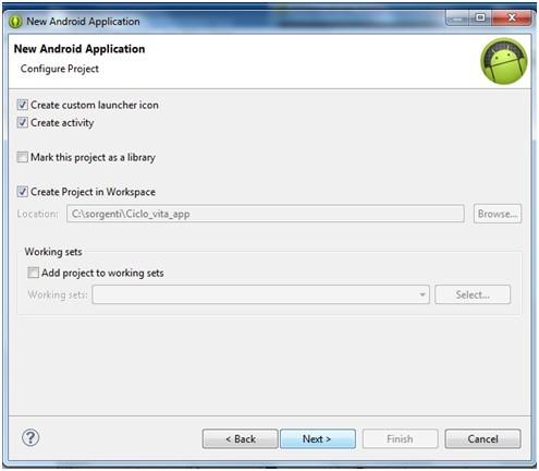 Creare applicazioni Android con Eclipse 3