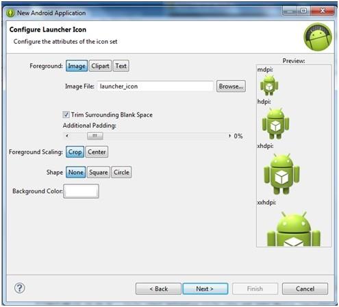 Creare applicazioni Android con Eclipse 4
