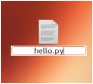 Creare e avviare script python in linux ubuntu 2