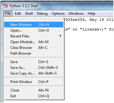 Creare il primo programma Python in Windows 1
