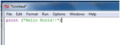 Creare il primo programma Python in Windows 2