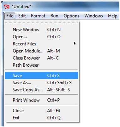 Creare il primo programma Python in Windows 3