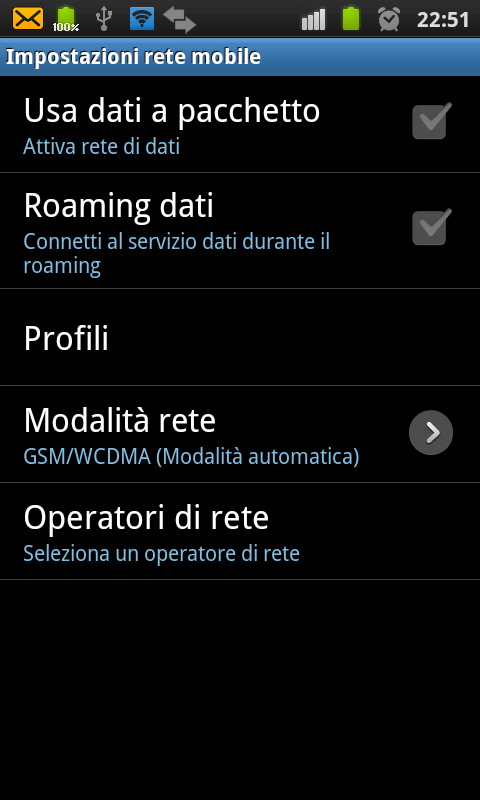 Utilizzare un dispositivo Android come Router WiFi 4