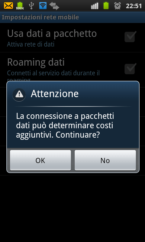 Utilizzare un dispositivo Android come Router WiFi 5