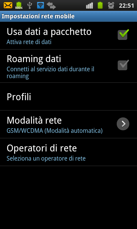 Utilizzare un dispositivo Android come Router WiFi 6