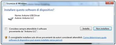 arduino installazione ide e driver in windows 5