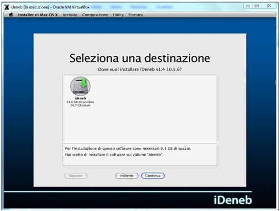 24 Come installare Mac OSX in Virtualbox