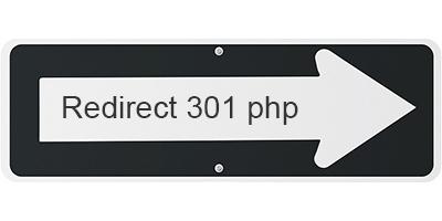 Come effettuare il redirect 301 in php