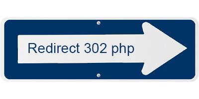 Come effettuare il redirect 302 in php