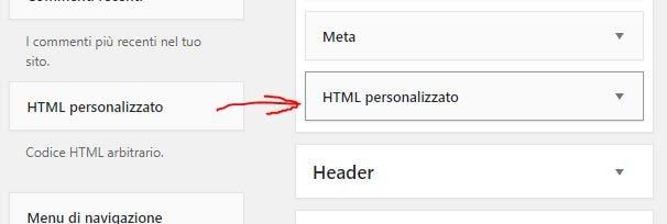 Come aggiungere il Badge di Google Plus in WordPress html personalizzato