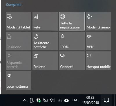 Scroll con rotella del mouse non funzionante in Windows 10 impostazioni