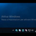Licenza di Windows 10 Pro risulta non valida
