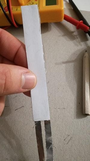 Come costruire un sensore di flessione chiusura