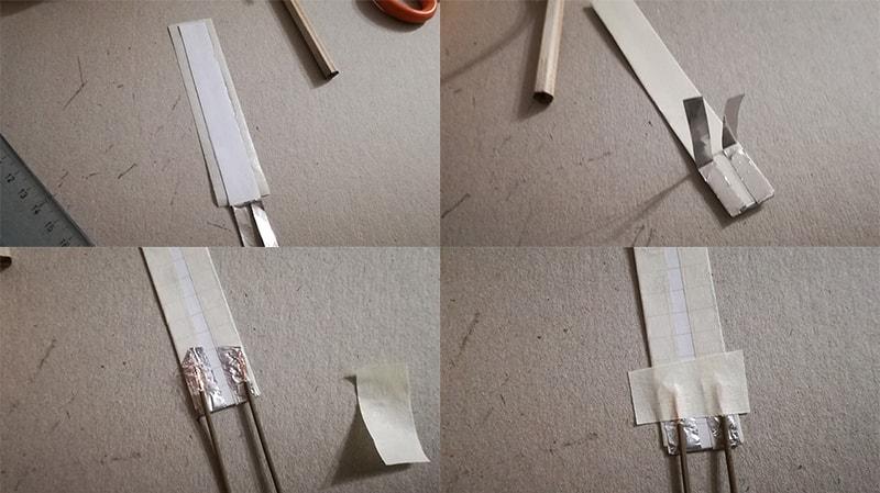Come costruire un sensore di flessione collegamento piedini