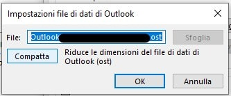 Come velocizzare Outlook compattando i file .ost compatta