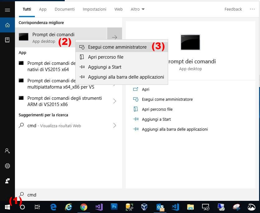 Ripristinare tasto F8 per avviare modalità provvisoria in Windows 10 avvio cmd