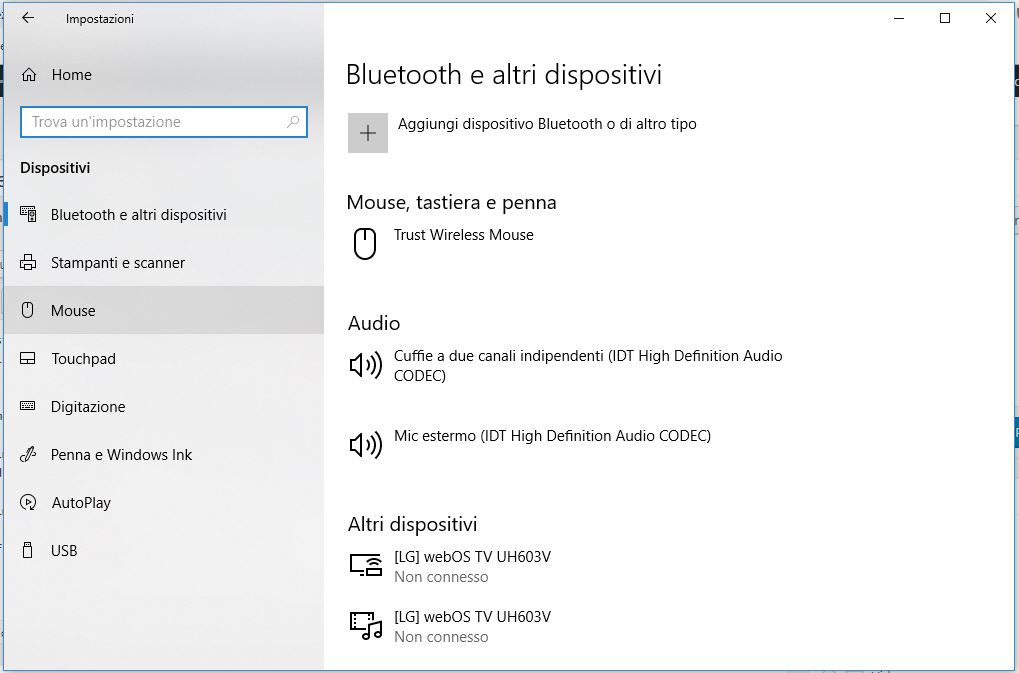 Come invertire i tasti del Mouse in Windows 10 mouse