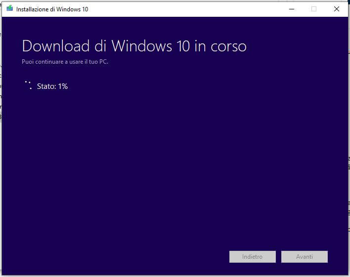 Come creare una chiavetta USB per installare Windows 10 download