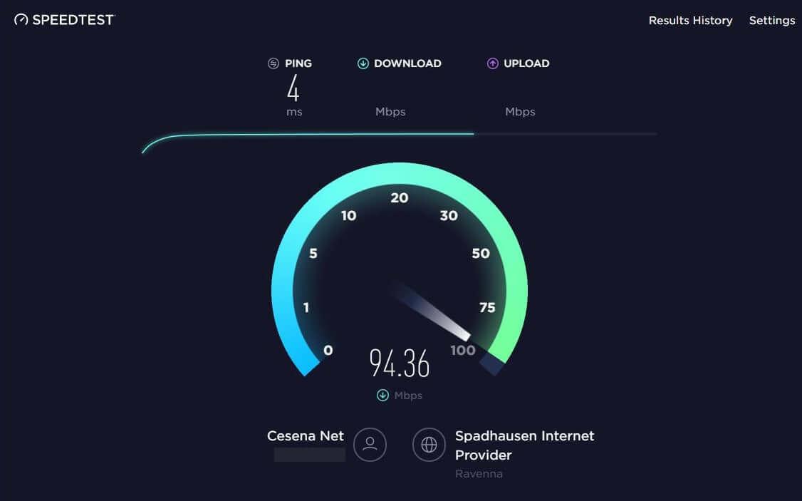 Come controllare la velocità della connessione internet da pc verifica download