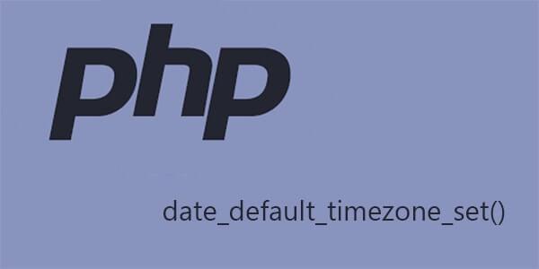 Come impostare timezone del server con script php