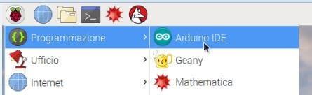 Come programmare Arduino da Raspberry PI avvio IDE