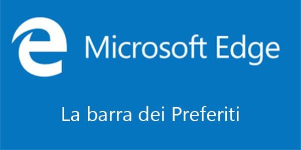 Come visualizzare o nascondere la barra dei preferiti in Microsoft Edge