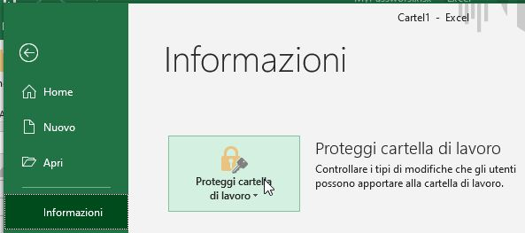 Proteggi cartella con password