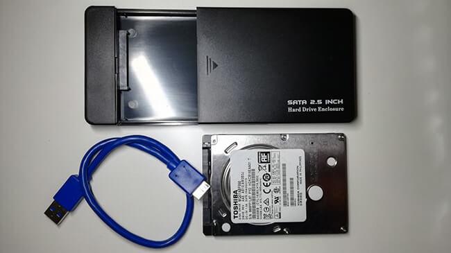 Riutilizzare Hard Disk come disco esterno. Materiale occorrente