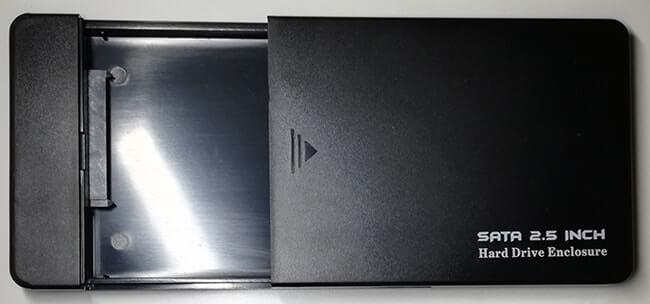 case box 2.5 aperto
